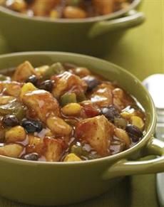 Black Bean Chicken Corn Chile