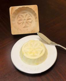 Wood Butter Mold