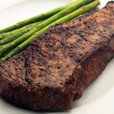 Dry Aged Stip Steak