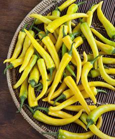 Golden Cayenne Chiles