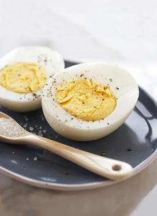 Vegetarian Eggs Hard Cooked