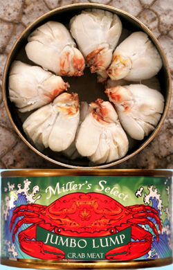 Jumbo Lump Crab Meat - Miller's Select