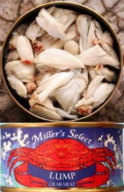 Backfin Lump Crab Meat - Miller's Select