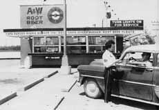 A&W 1950s Car Hop
