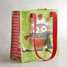 Reusable Christmas Shopping Bag