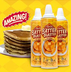 Batter Blaster Aerosol Pancake Batter