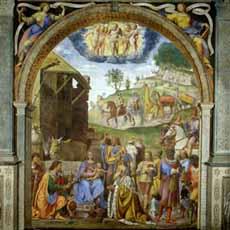Adoration Of The Magi - Luini