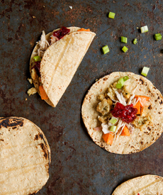 Thanksgiving Leftovers Tacos