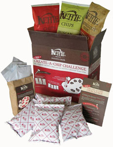 "Kettle Brand ""Create-a-Chip Challenge"" Kit"
