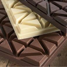 Dark, Milk & White Chocolate Bars