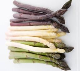 Green, White & Purple Asparagus