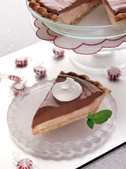 Chocolate Peppermint Pie