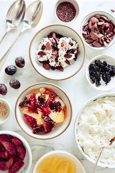 Easy Ricotta Summer Dessert