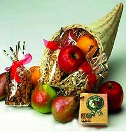 Horn Of Plenty Fruit Basket