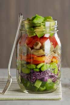 Avocado Layered Salad