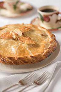 Apple Pie With Appliques
