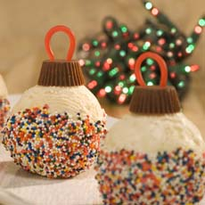 Ice Cream Christmas Ornaments