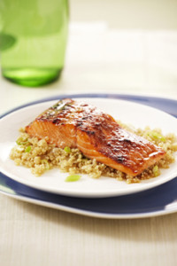 Baked Salmon With Quinoa