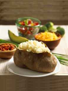Baked Potato & Toppings