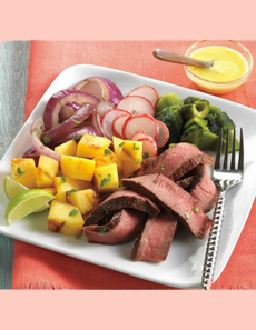 Beef-Fajita-Salad-with-Mango-Serrano-Vinaigrette-beefitswhatsfordinner-230