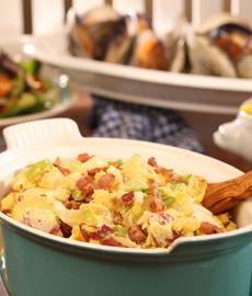 Beer & Bacon Potato Salad