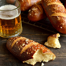 Pretzel Hot Dog Rolls Recipe