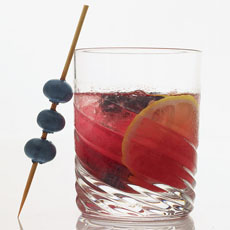 Blueberry Rickey