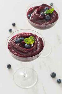Blueberry Basil Frose