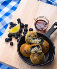 Bantam Pancakes Blueberry