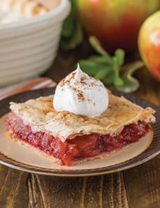 Candy Apple Slab Pie