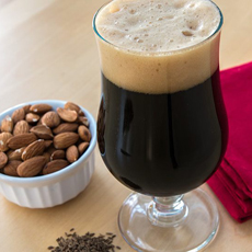 Stout With Salted Nuts