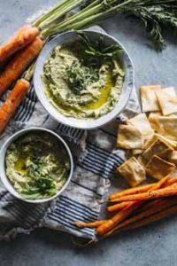 Carrot Top Hummus