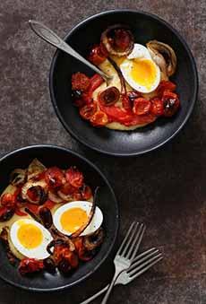 Polenta Breakfast Bowl