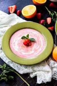 Strawberry Soup Gazpacho