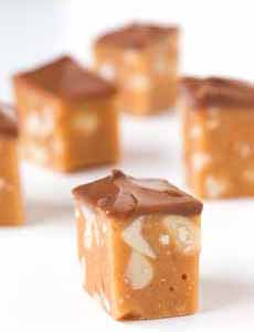 Chocolate Peanut Nougat