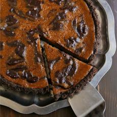 Chocolate-Pumpkin-Tart-completelydeliciousGBWB-230