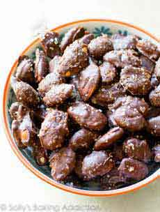 Chocolate Sea Salt Almonds