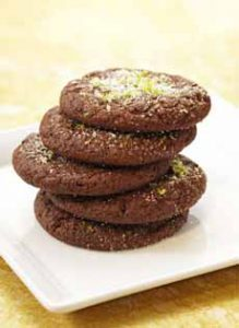 Cocoa Ancho Butter Cookies