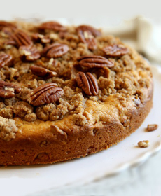 Pumpkin Pecan Coffee Cake Recipe