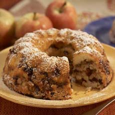 Cranberry Apple Bundt Cake
