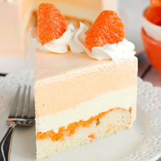 Creamsicle Ice Cream Cake