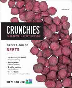Crunchies Freeze-Dried Beet Chips