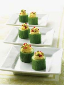 Curried Goat Cheese Appetizer Recipe