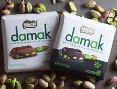 Nestle Damak Pistachio Chocolate Bars