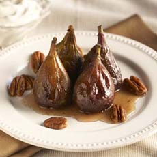 Figs With Honey & Nuts