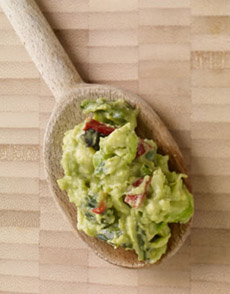 Guacamole On Spoon