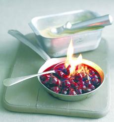 Cherries Flambe