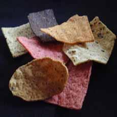 Multicolor Tortilla Chips