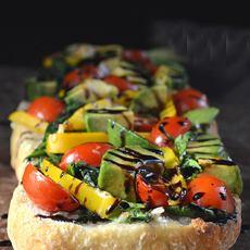 Garlic Bread Crostini