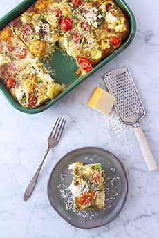 Gnocchi Breakfast Bake